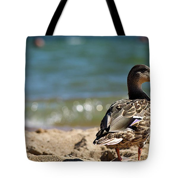 Hitting The Surf Tote Bag