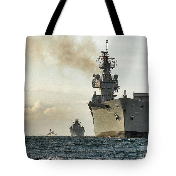 Hms Ark Royal  Tote Bag