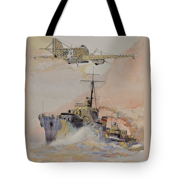 Hms Ashanti Tote Bag by Ray Agius