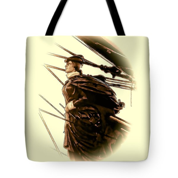Hms Bounty - Lost At Sea  Tote Bag