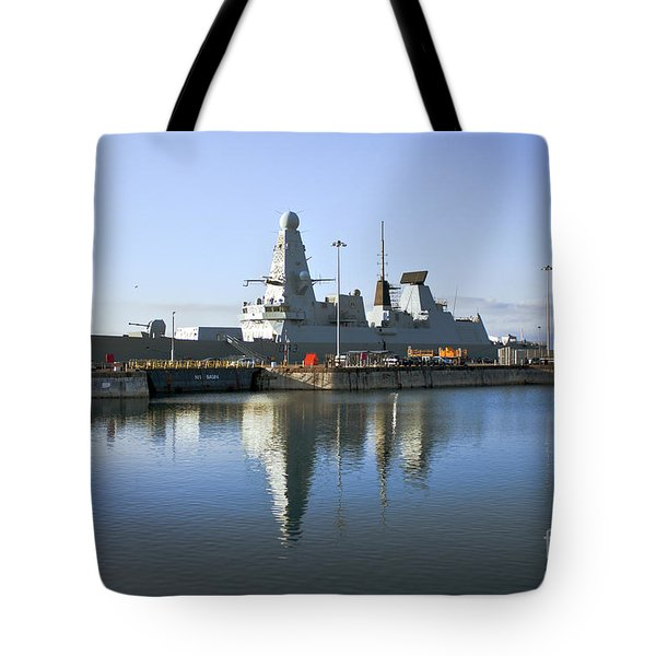 Hms Dauntless Tote Bag