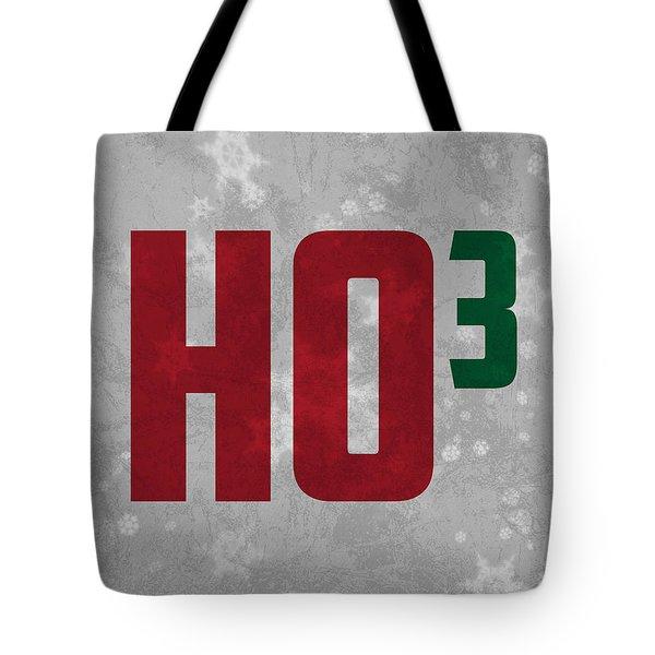 Ho Ho Ho Have A Very Nerdy Christmas Tote Bag by Design Turnpike