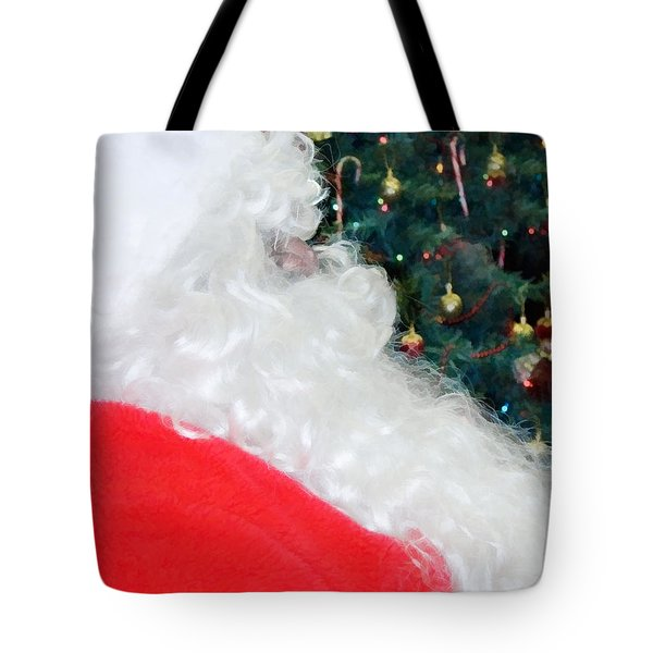 Tote Bag featuring the photograph Santa Claus by Vizual Studio