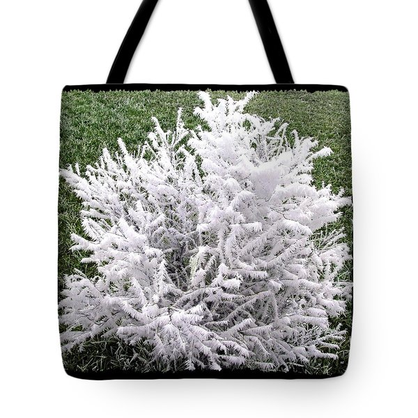 Hoarfrost 20 Tote Bag by Will Borden