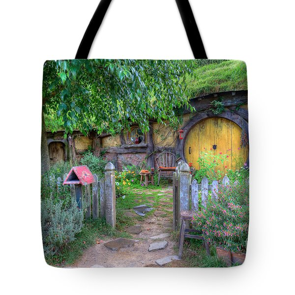Hobbit Hole 2 Tote Bag