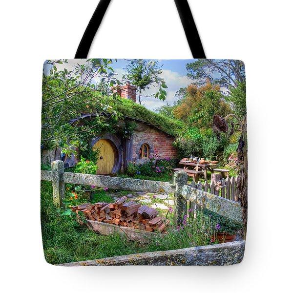 Hobbit Hole 7 Tote Bag