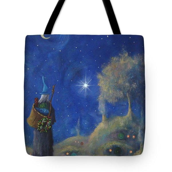 Hobbiton Christmas Eve Tote Bag by Joe Gilronan