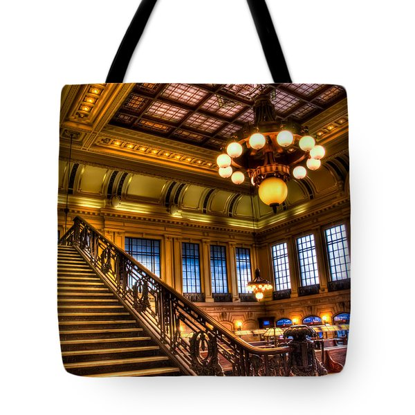 Hoboken Terminal Tote Bag