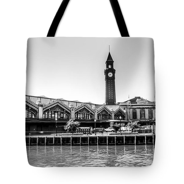 Hoboken Terminal Tower Tote Bag
