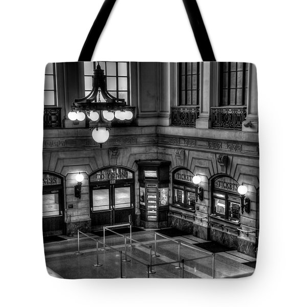 Hoboken Terminal Waiting Room Tote Bag