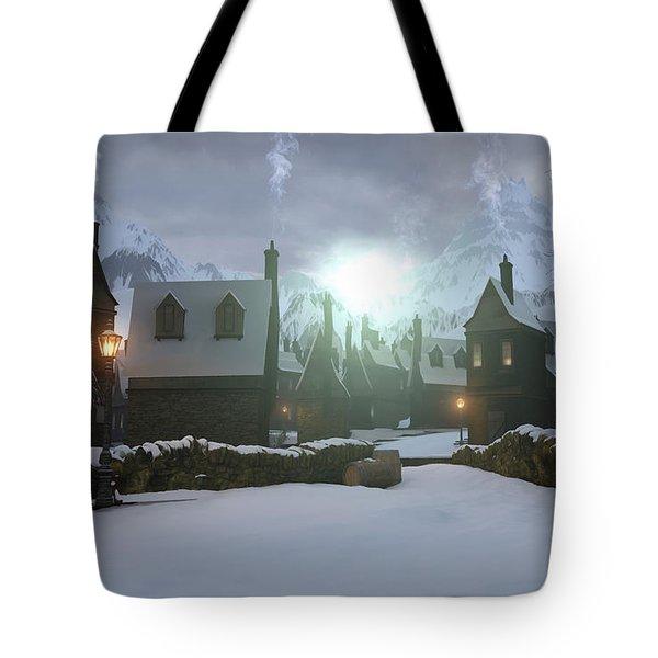 Hogsmeade Tote Bag by Cynthia Decker