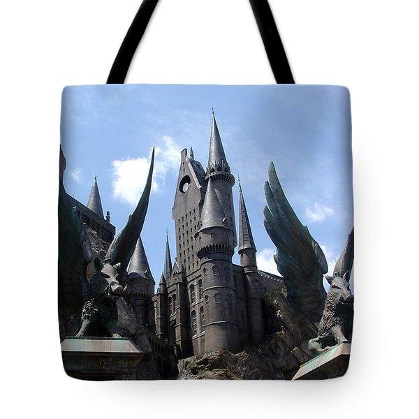 Hogwarts Castle Tote Bag