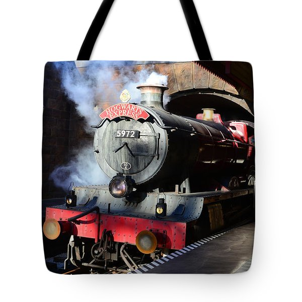 The Hogwarts Express Is Here Tote Bag