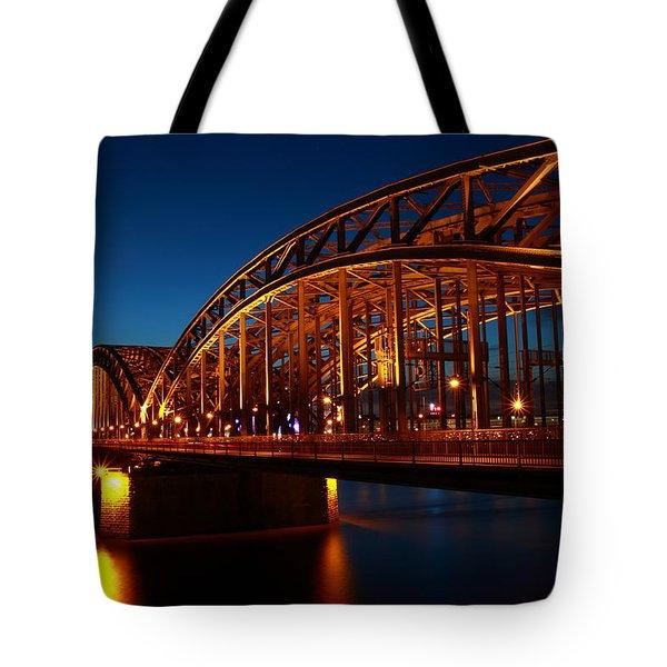 Hohenzollern Bridge Tote Bag
