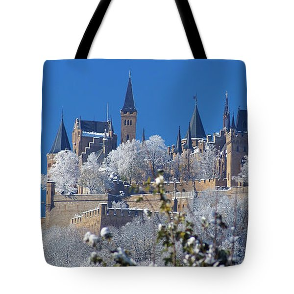 Tote Bag featuring the photograph Hohenzollern Castle Germany by Rudi Prott