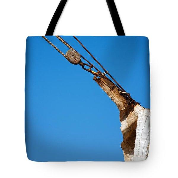 Hoist The Sails. Tote Bag