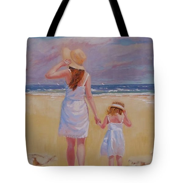 Hold On Tote Bag by Laura Lee Zanghetti