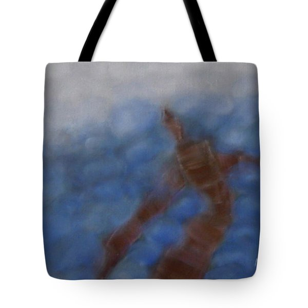 Hold The World Tote Bag by Min Zou