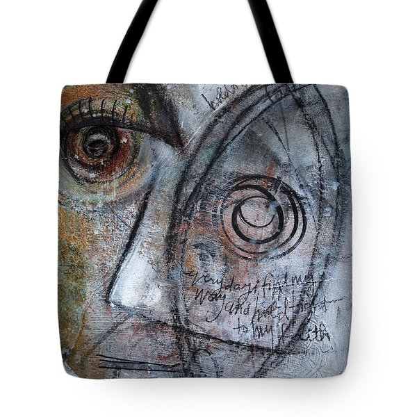 Hold Tight To My Faith Tote Bag