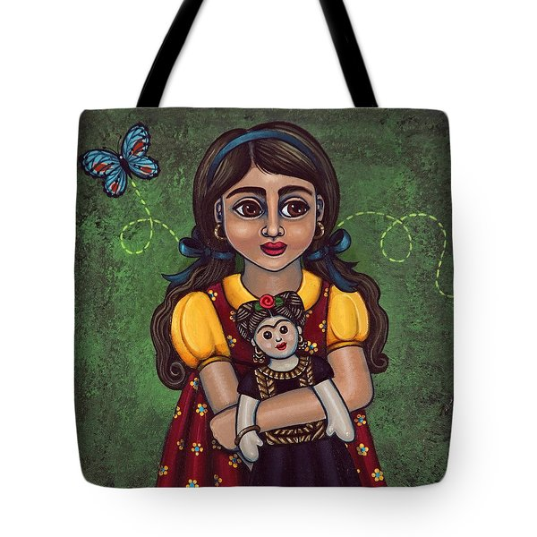 Holding Frida Tote Bag
