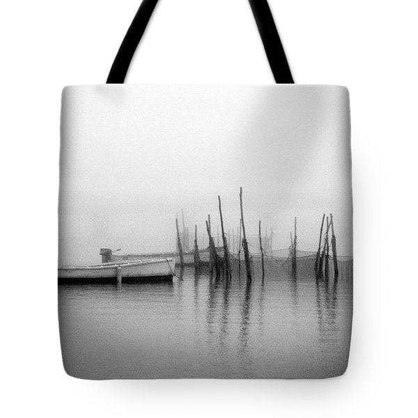 Holding Nets Tote Bag by Skip Willits