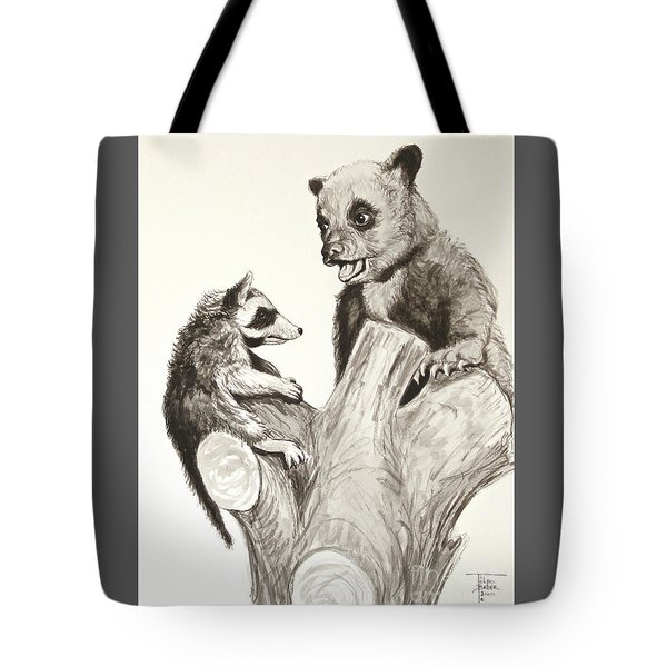 Holding Ones Ground Tote Bag