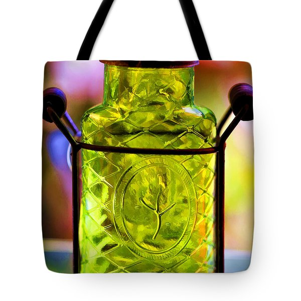 Tote Bag featuring the photograph Holding Spring by Jaki Miller