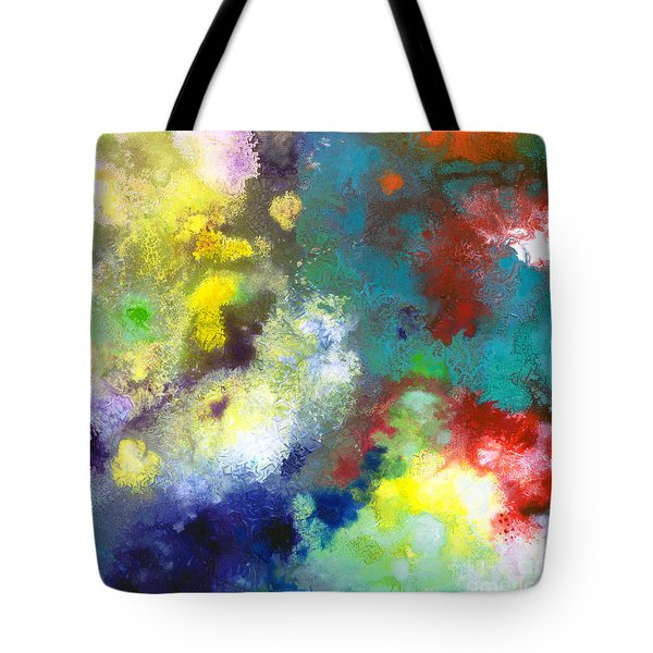 Holding The High Watch Canvas Two Tote Bag