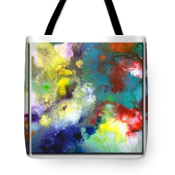 Holding The High Watch Triptych Tote Bag
