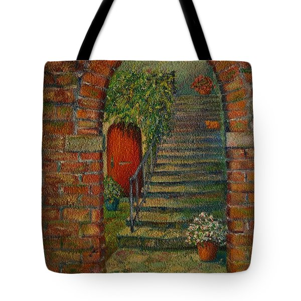 Hole In The Wall Tote Bag by Dorothy Allston Rogers