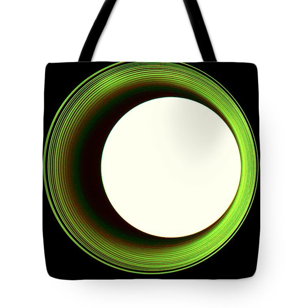 Hole In The Wall - Green Tote Bag