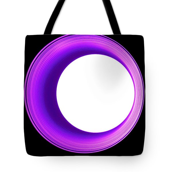Hole In The Wall - Purple Tote Bag
