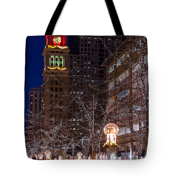 Holiday Carriage Ride Tote Bag