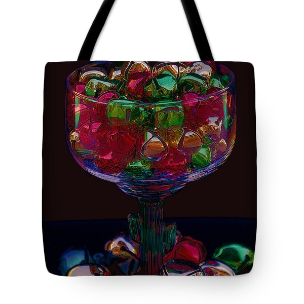 Tote Bag featuring the photograph Holiday Cheers by Photography by Laura Lee