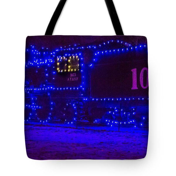 Holiday Express Train Tote Bag by Steven Bateson