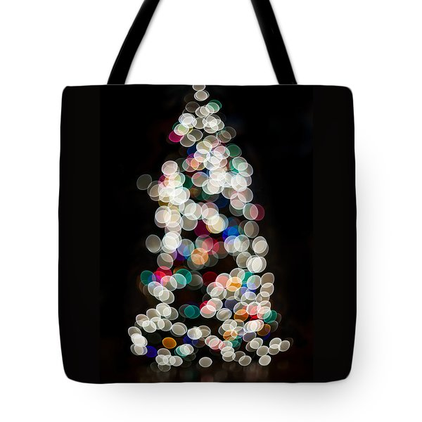Tote Bag featuring the photograph Holiday In Color by Aaron Aldrich