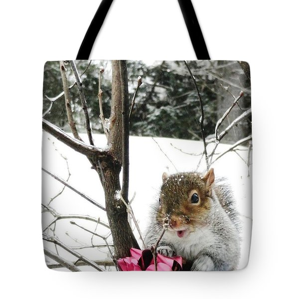 Holiday Joy Tote Bag