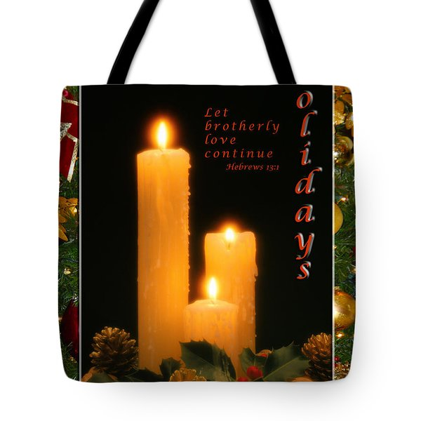 Holiday Love Declaration2 Tote Bag
