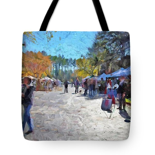 Holiday Market Tote Bag