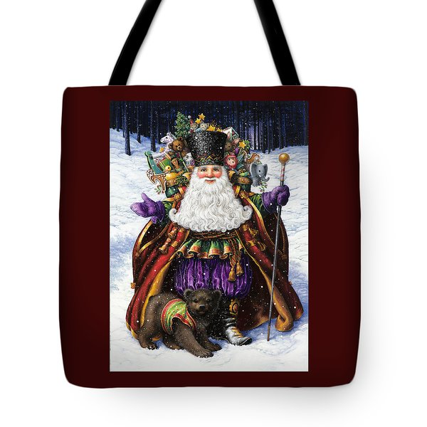 Holiday Riches Tote Bag