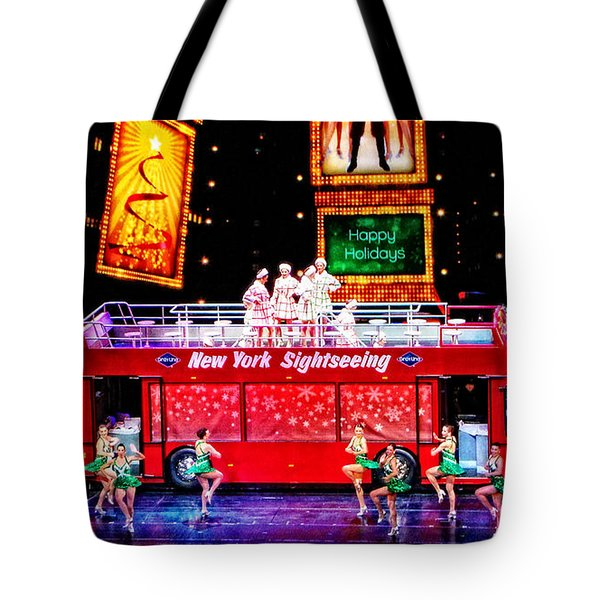 Holiday Sightseeing Tote Bag