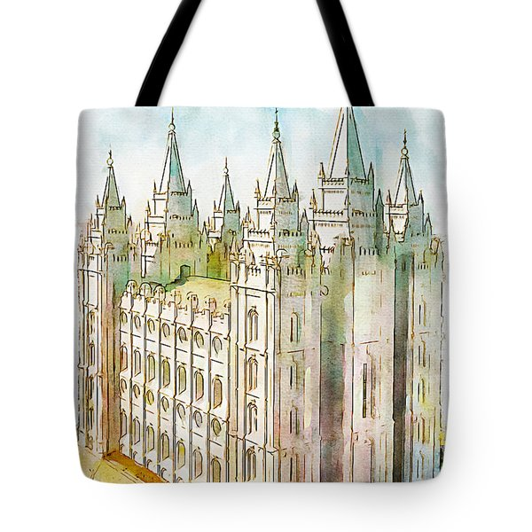 Holiness To The Lord Tote Bag