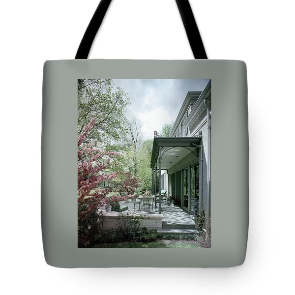 Hollis Baker's Patio Tote Bag