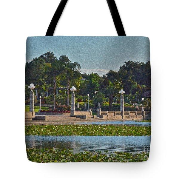 Hollis Gardens II Tote Bag by Carol  Bradley