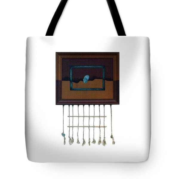 Tote Bag featuring the painting Hollow by Fei A