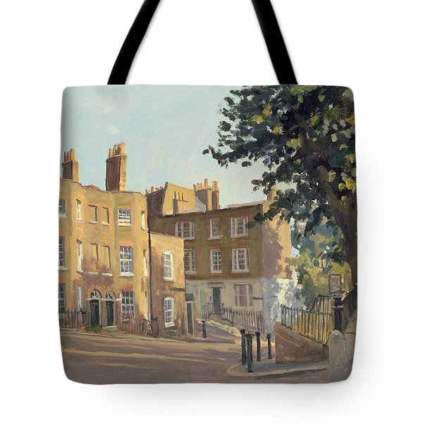 Holly Hill, Hampstead Oil On Canvas Tote Bag