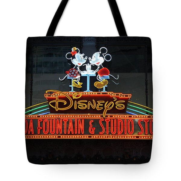 Hollywood Disney Tote Bag
