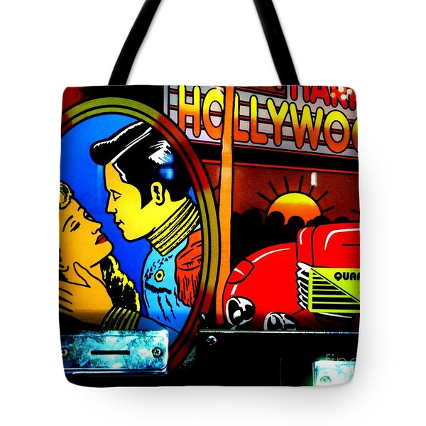 Hollywood Tote Bag by Newel Hunter