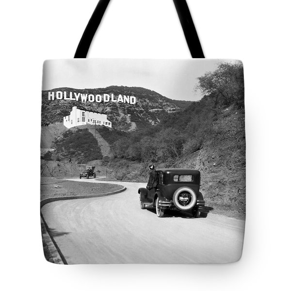 Hollywoodland Tote Bag