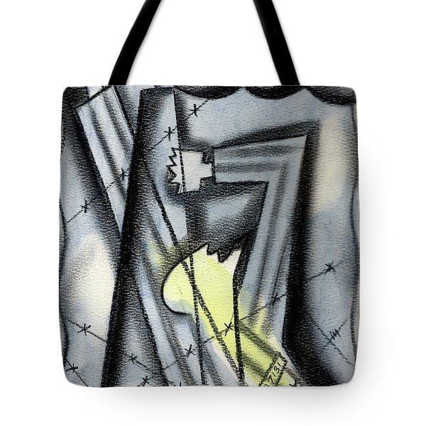Holocaoust Tote Bag by Leon Zernitsky
